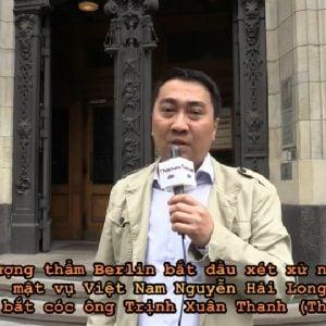 Đức xét xử nghi phạm mật vụ Việt Nam Nguyễn Hải Long trong vụ bắt cóc ông Trịnh Xuân Thanh