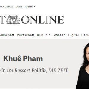 Nữ biên tập viên báo Zeitmagazin cho rằng mật vụ Việt Nam có thể sẽ vươn tay tới những người bất đồng chính kiến tại Đức