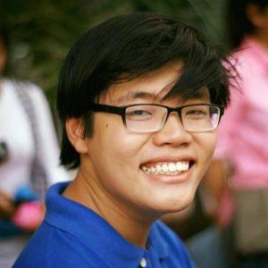Chân dung sinh viên trẻ Trần Hoàng Phúc
