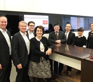 Tham tán công sứ thương mại (TTCSTM) Nguyễn Hữu Tráng thăm và làm việc với các doanh nghiệp Pforzheim và Öcomineral ở Áo