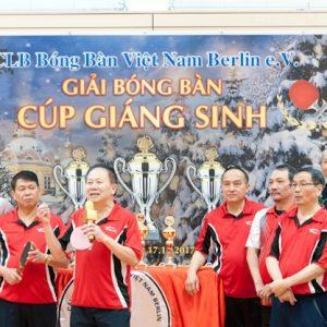 Thư cảm ơn của câu lạc bộ bóng bàn Việt Nam Berlin