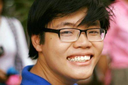 """Trần Hoàng Phúc, Student der Rechtshochschule Saigon, wurde von der vietnamesischen Regierung wegen """"Propaganda gegen den Staat"""" zu sechs Jahren Haft und vier Jahren Hausarrest verurteilt"""