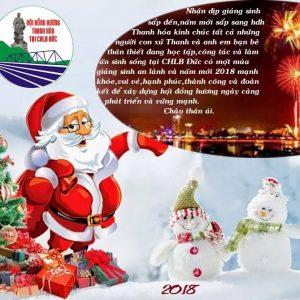 Hội đồng hương Thanh hóa tại CHLB  Đức Chúc mừng Giáng sinh và năm mới 2018