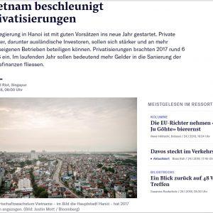 Việt Nam đẩy nhanh việc tư hữu hóa