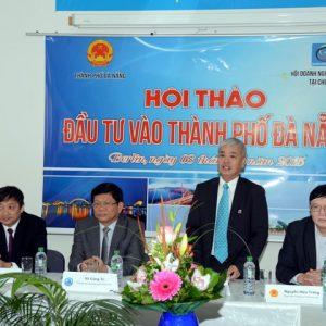 Hội thảo xúc tiến đầu tư vào thành phố Đà Nẵng