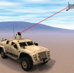Mỹ trình làng vũ khí laser diệt máy bay không người lái sau 15 giây