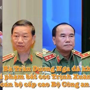 Bà Trần Dương Nga khai tại tòa án Đức: Nhiều cán bộ cao cấp Bộ Công an Việt Nam liên quan bắt cóc ông Trịnh Xuân Thanh