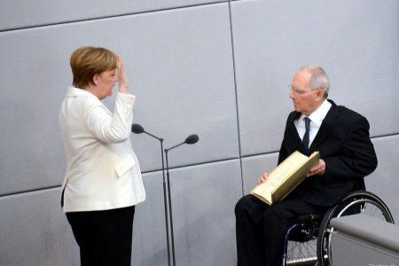 Thủ tướng Đức Angela Merkel tuyên thệ nhậm chức nhiệm kỳ thứ 4 và công bố danh sách các Bộ trưởng của Chính phủ mới (Berlin 14.03.2018)