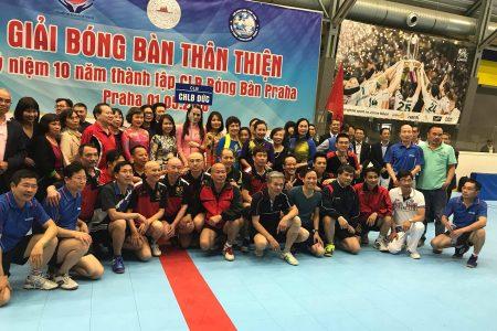 CLB Bóng bàn Việt Nam – Berlin tham dự Giải bóng bàn Thân thiện ở Praha