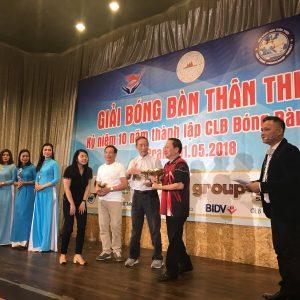 CLB Bóng bàn Việt Nam – Berlin tham dự giải bóng bàn Thân thiện Praha 2018