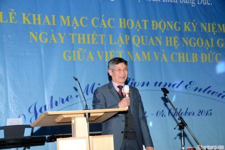 Liên hiệp người Việt toàn LB Đức tổ chức các hoạt động phong phú, có ý nghĩa kỷ niệm 40 quan hệ Việt – Đức
