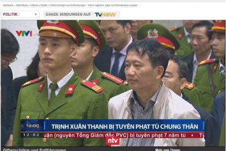 Fall um Trịnh Xuân Thanh gewinnt international an Bedeutung