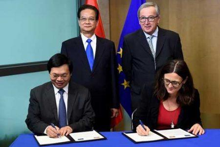 EU và Việt Nam ký kết Hiệp định thương mại tự do