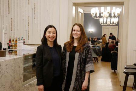 Tet-Fest-Feier des jungen deutsch-vietnamesischen Unternehmens VLab in die er Berliner Humboldt-Universität