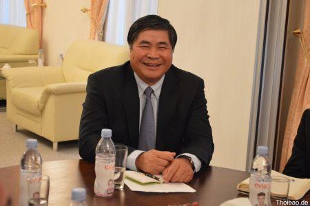 Những trải lòng đầu tiên của  ông Đoàn Xuân Hưng, tân Đại sứ Việt Nam tại CHLB Đức.