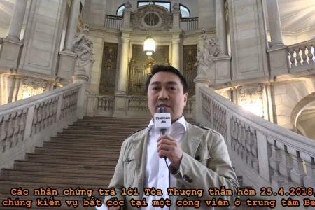 Trịnh Xuân Thanh và Đỗ Thị Minh Phương bị từ 5 đến 7 mật vụ VN ném vào khoang xe như bao khoai tây.