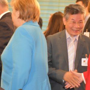 Liên Hiệp Người Việt tại Đức dự Hội nghị thượng đỉnh về hội nhập, nhập cư tại phủ Thủ tướng Đức 13.6.2018