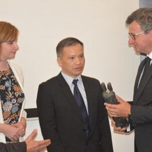 Lễ trao giải Nhân quyền của Liên đoàn Thẩm phán Đức cho LS Nguyễn Văn Đài tại Berlin 13.6.2018