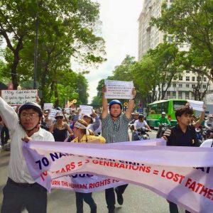 Biểu tình tại Sài Gòn 10.6.2018
