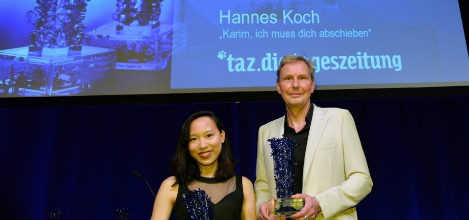 Nhà báo trẻ Vanessa Vũ được trao Giải thưởng Báo chí Theodor-Wolff danh giá nhất nước Đức