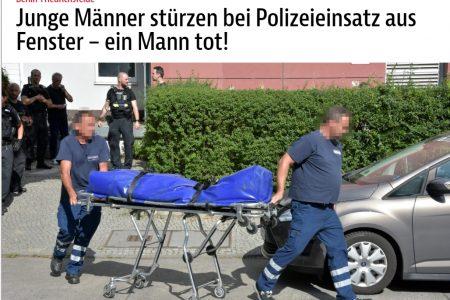 2 người Việt nam nhẩy từ tầng 5 xuống mặt đất khi bị cảnh sát khám nhà ở Berlin – một người chết