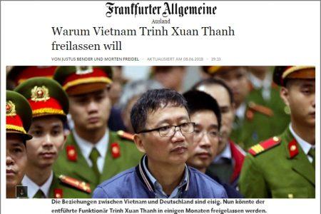 Trịnh Xuân Thanh và con trai có lẽ sẽ được sang Đức vào đầu năm 2019