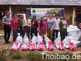 Hội từ thiện Sen Vàng Berlin tham gia cứu trợ đồng bào bị thiên tai ở Hà Giang