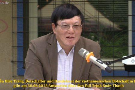 """Fall um Trịnh Xuân Thanh: Vietnam bestätigt, dass es zu einer """"Vereinbarung im Dezember 2017"""" kam"""