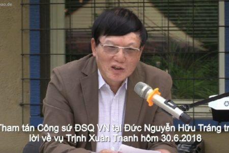 """Vụ Trịnh Xuân Thanh: Lần đầu tiên phía Việt Nam xác nhận """" Đã có thỏa thuận từ cuối tháng 12.2017"""""""