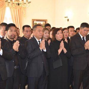 Đại sứ quán Việt Nam tại CHLB Đức ở Berlin tổ chức Lễ viếng và mở sổ tang cố Chủ tịch nước Trần Đại Quang. (Foto: 26/9/2018)