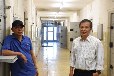Luật sư Nguyễn Văn Đài và Blogger Bùi Thanh Hiếu tại Nhà tù an ninh cộng sản thời CHDC Đức ở Berlin