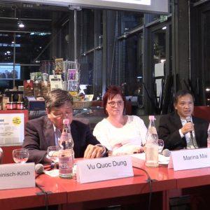 Thay đổi thể chế chính trị để Việt Nam phát triển – Ls. Nguyễn Văn Đài tại hội thảo nhật báo TAZ Berlin 4.9.2018