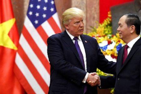 Tuyên bố của Tổng thống Hoa Kỳ về việc Chủ tịch nước Việt Nam Trần Đại Quang từ trần