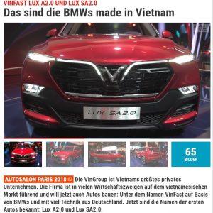 VinFast sản xuất xe ô tô Việt Nam với công nghệ Đức – Đó là xe BMW made in Vietnam *