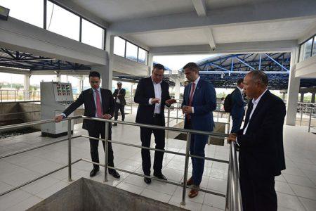 Công ty Aone ở Leipzig tham gia xây dựng hệ thống nước sạch ở Hà Nội