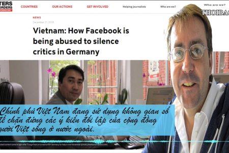 """Người dùng Facebook tiếng Việt đã bị lực lượng 47 của ĐCS VN """"bức tử"""" tài khoản ra sao?"""