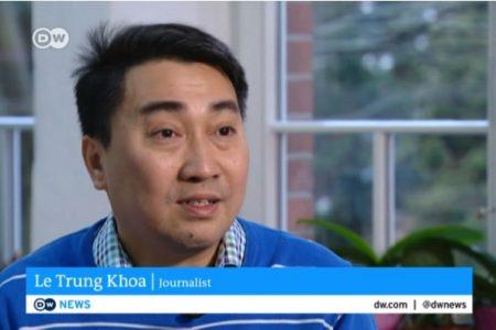 Vietnamesischer Onlinejournalist begegnet auch daheim Zensur