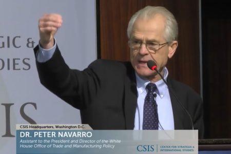 """Cố vấn thương mại Mỹ Navarro cảnh báo: """"Trung Quốc muốn ăn cắp tương lai của chúng ta"""""""