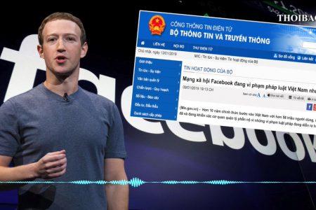 Facebook ra tuyên bố phản bác đòi hỏi của Chính phủ Việt Nam