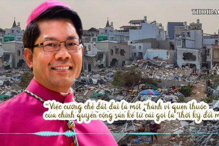 Giám mục Úc gốc Việt Nguyễn Văn Long phản đối cưỡng chế tại vườn rau Lộc Hưng