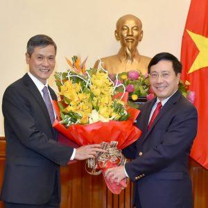 Tân Đại sứ Việt Nam tại Đức cho biết Ngoại trưởng Phạm Bình Minh có thể sẽ thăm Đức vào tháng 2 tới