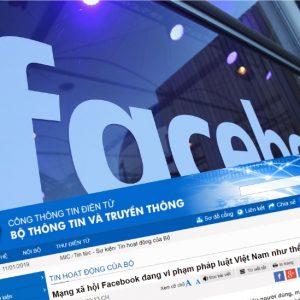 Facebook phản bác lại tuyên bố của Chính phủ Việt Nam