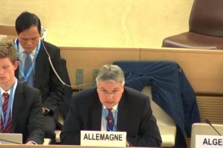 Deutschlands Empfehlung bei der UPR über Vietnam des UN-Menschenrechtsrats