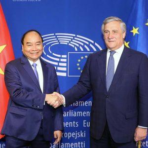 Liên minh châu Âu: Hãy hoãn bỏ phiếu về Hiệp định Thương mại Tự do với Việt Nam