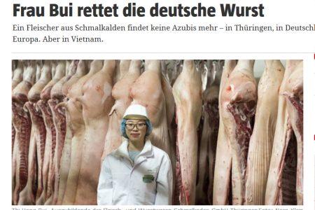 """Người Việt """"cứu"""" xúc xích Đức?"""