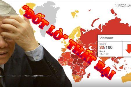 """Tổng kết chiến dịch """"Đốt lò"""" năm 2018 của TBT, Chủ tịch nước Nguyễn Phú Trọng, nạn tham nhũng tại Việt Nam gia tăng"""