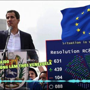 """Chủ tịch Nghị viện châu Âu Antonio Tajani tuyên bố : """"Juan Guaidó là Tổng thống lâm thời của Venezuela"""""""