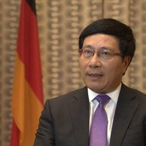 Bộ trưởng Phạm Bình Minh vừa tới Berlin để họp kín với phía Đức giải quyết vụ bắt cóc Trịnh Xuân Thanh?