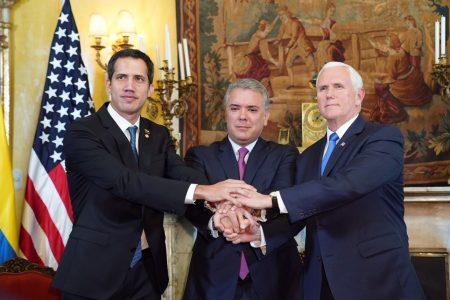 """Phó Tổng thống Mỹ gặp Tổng thống Guaido, Ngoại trưởng Pompeo gọi Maduro là """"kẻ độc tài Xã hội Chủ nghĩa"""""""