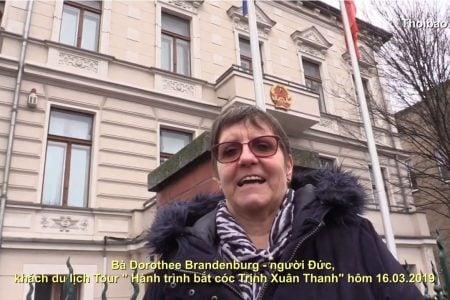 """Bà Dorothee Brandenburg với """" Hành trình bắt cóc Trịnh Xuân Thanh"""" 16.03.2019"""